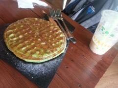 Pancake dessert at our Bubble Tea hangout spot - Socialicious