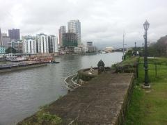 The Prasig River as it passes beside Intramuros