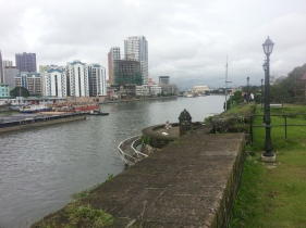 The Prasig River as it passes beside Intramuros