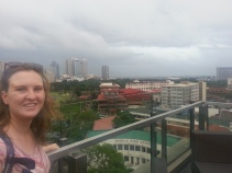 View from the top of the Bayswater Hotel in Intramuros