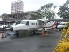 Not our plane, but very similar to the one we flew on.
