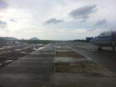 The runway in El Nido