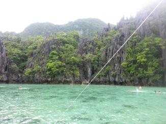 Entering the Small Lagoon