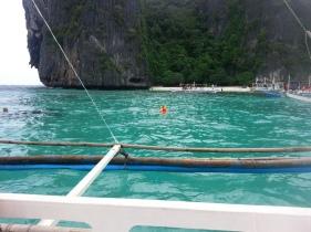 Me, snorkelling!