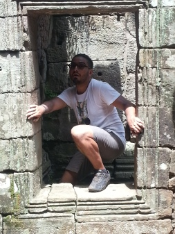 We found a Kevin at Angkor Thom!