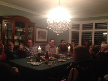 Christmas Eve with the family