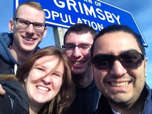 Grimsby #Selfie