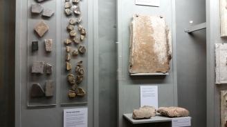 tiles from a roman settlement