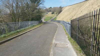 uh, ya, this is one of the smaller hills we tackled today