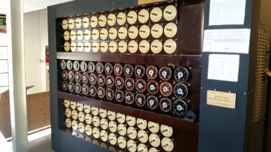 rebuilt version of the Bombe (aka Christopher?)