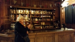 the bar from the film set, in the ballroom