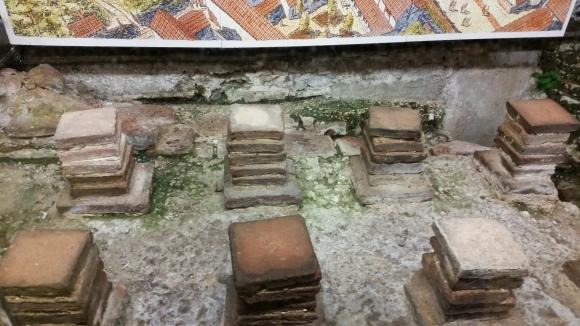 Roman Ruins inCanterbury