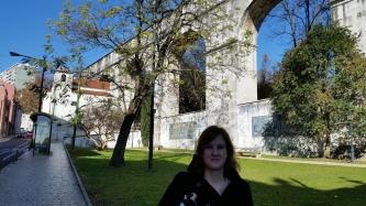 an aqueduct in lisbon!
