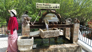 a water mill beside the fonte pecana