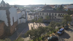 View from the castle walls
