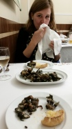 eating (and loving) goose barnacles