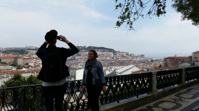 Tyler capturing the beauty of Lisbon ;)