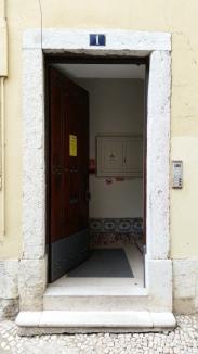 the welcoming door