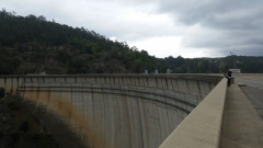 and a dam!