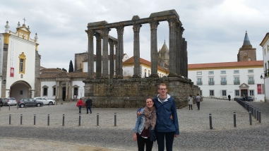siblings & roman ruins, no big deal