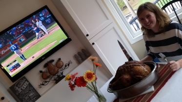 Obviously, we were watching the Jays