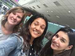 Airport reunion!!