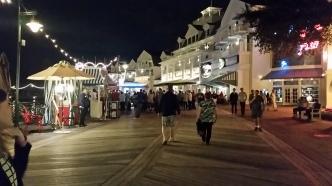 An evening at the Boarwalk