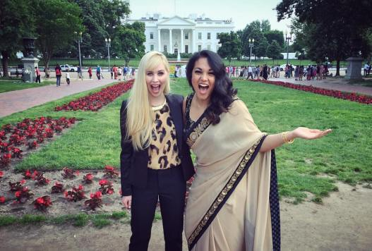 The creators of the film, Erin Bagwell & Komal Minhas