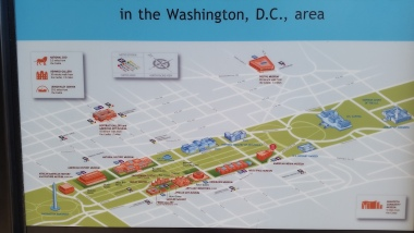 A map of the National Mall!