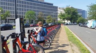 Renting a Capital Bixi Bike