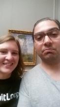 art selfie!