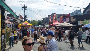 Kensington Market on a summer weekend
