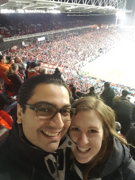 We went to the craziest Toronto FC game of the year. These people are serious about winning.
