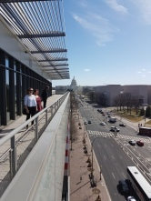 View of Pennsylvania Ave from the Newseum