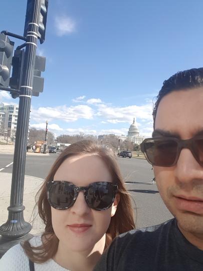 Capitol Building Selfie