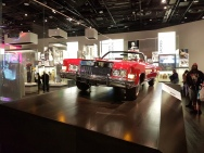 Red Cadillac Eldorado owned by Chuck Berry, at that National Museum of African American History and Culture