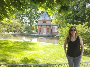 Checking out retiro park