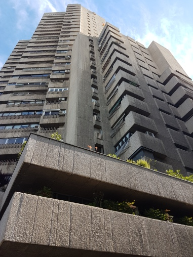 Just a bit of brutalist architecture in the neighbourhood