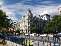 Another gorgeous building in Madrid.
