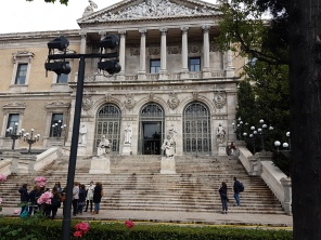 The library of Madrid!