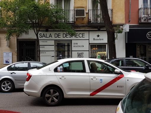 Sala de Despiece before opening!