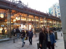 Outside of the Mercado de San Miguel