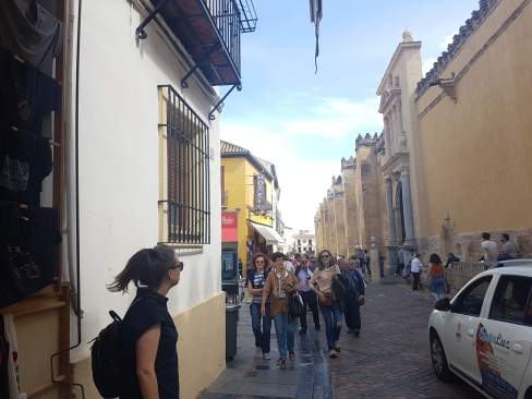 Day 1, walking the streets in Cordoba