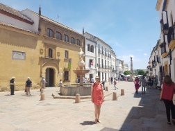 Standing in the streets of Cordoba