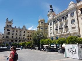 Standing in a square in Cordoba