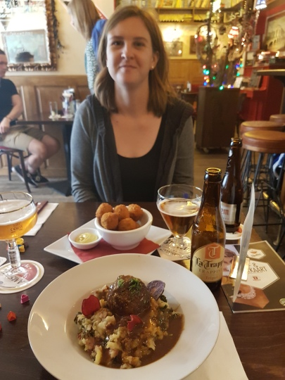 BitterBallen and homemade meatloaf!