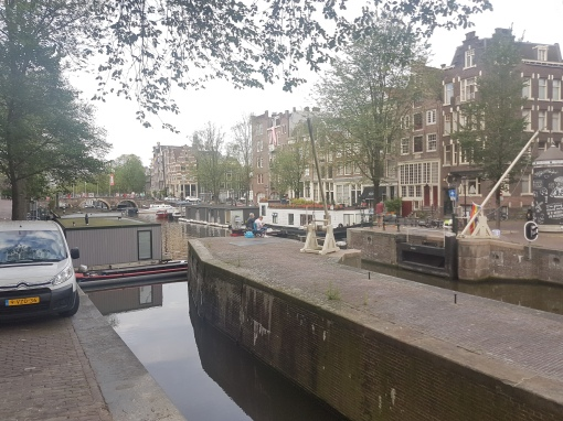 early morning, quiet canals