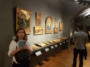 the religious section of the museum, which our trip to Spain taught us to move through quickly. The religious art is usually at the beginning of these museums, but you have to pace yourself well to get to the whole collection!