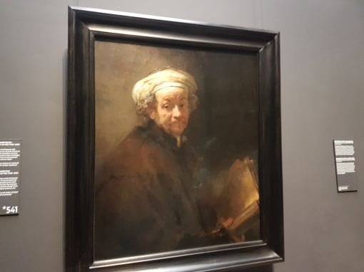 A self portrait by Rembrandt