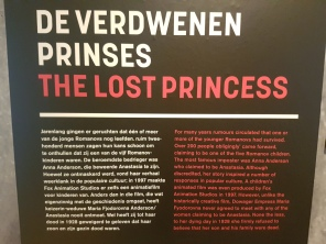 the story of Princess Anastasia, inspiration for the classic cartoon film. a must-see! (lol)